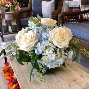 Beauty by the Sea  Vase Arrangement in Mattapoisett, MA | Blossoms Flower Shop