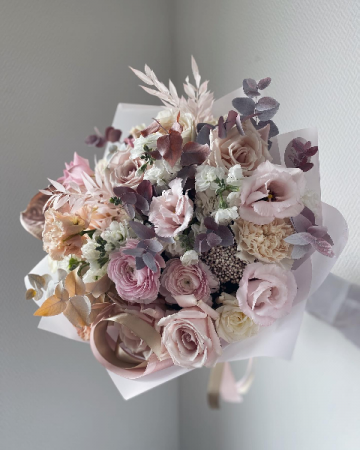 Beauty For Ashes  Bouquet of fresh pastel flowers