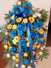 Beauty heaven Blue yellow extra large stand