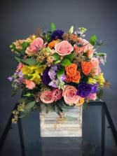 Beauty in a Box Fresh Floral Arrangement