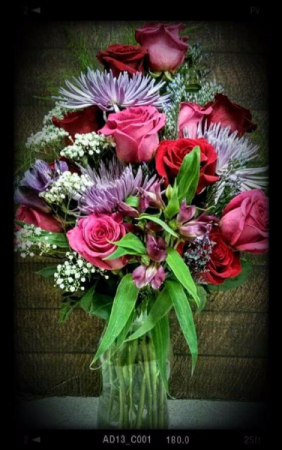 Because I Love You Vase in Vernon, BC | SIMPLY BASKETS AND HARRIS FLOWERS