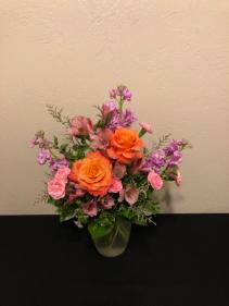 Because Of You Vase Arrangement