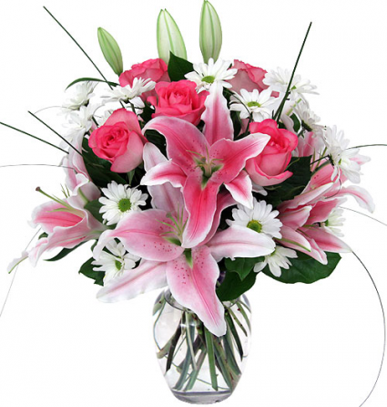 because your loved fresh arrangement