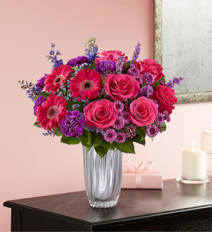 Pink & Purple Radiance  in Oakdale, NY | POSH FLORAL DESIGNS INC.
