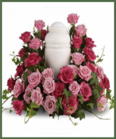 Bed of Pink Roses