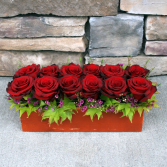Bed of Roses Contemporary Rose Arrangement