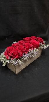 Bed of Roses Rose Arrangement
