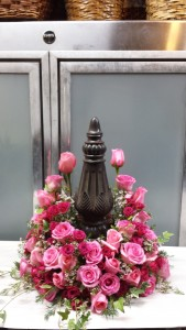 Bed of Roses Urn Wreath $175.95, $195.95, $225.95