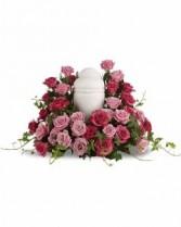 Bed of Sweet Roses Sympathy Arrangement