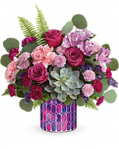 Bedazzling Beauty fresh flowers arr