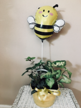 Bee happy Planter garden