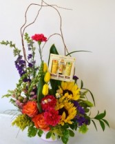 Bee-utiful Mom's Day Fresh Flowers
