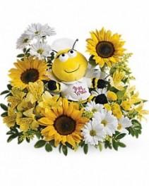 Bee Well Bouquet Flower Arrangement
