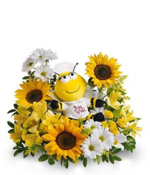 Bee Well Bouquet Fresh Arrangement in Rossville, GA | Ensign The Florist