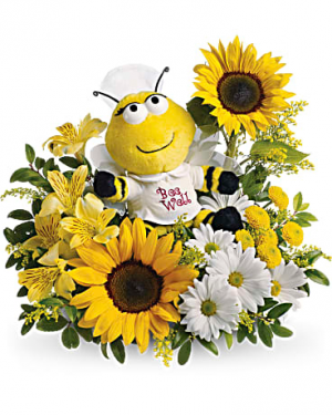 Bee Well Bouquet Get Well in Punta Gorda, FL | CHARLOTTE COUNTY FLOWERS