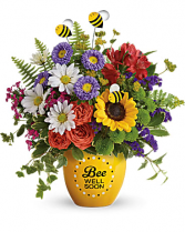 BEE WELL  Ceramic Container
