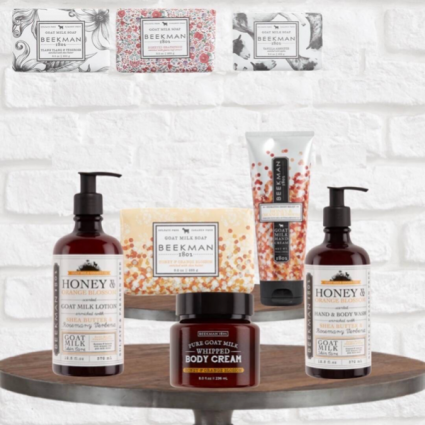 Beekman Goat Soap & Lotion