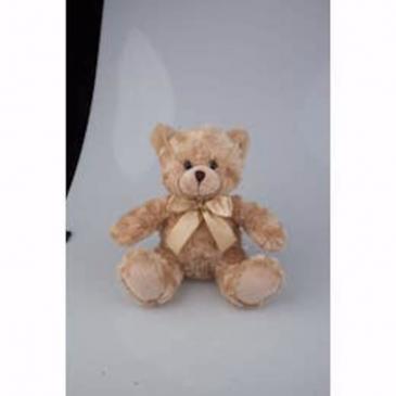 Beige Sitting Bear