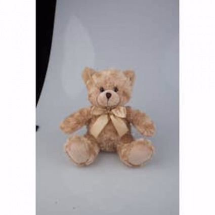 Beige Sitting Bear