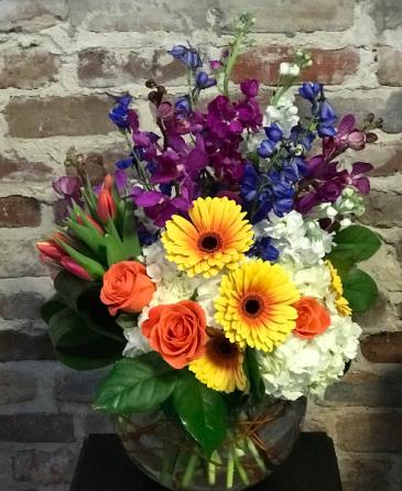 Bejeweled Bouquet Vased Arrangement