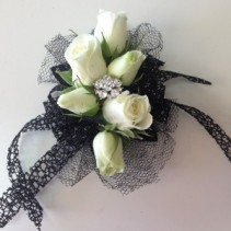 Bejeweled Wrist Corsage