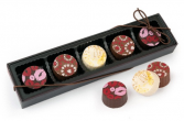 Belgian Chocolate Truffle Gift Set Gourmet Food
