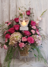 Believe funeral flowers