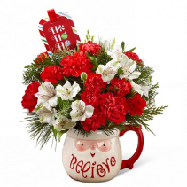Believe Mug Bouquet by Hallmark FTD