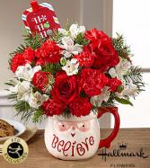 Believe Santa Mug Vase