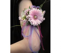 Bell of the Ball Gerbera Corsage