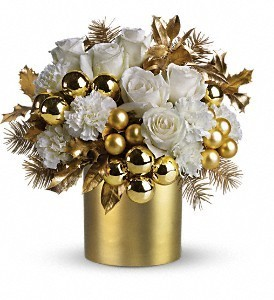 Belle of the Ball Christmas centerpiece