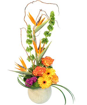 Bells of Paradise Floral Arrangement in Ozone Park, NY | Heavenly Florist