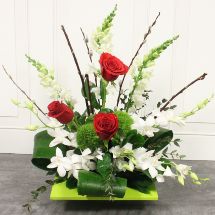 Bells, Roses, and Orchids **Local Delivery Only**