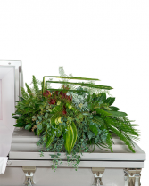 Beloved Botanics Casket Spray Sympathy