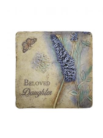 Sympathy Plaque - Beloved Daughter