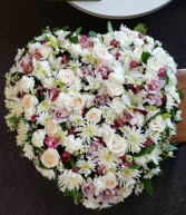Beloved Farewell 36 inch heart Funeral
