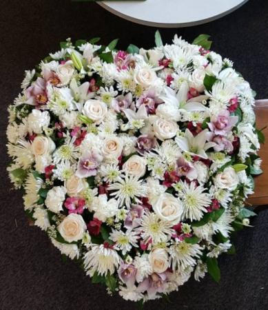 Beloved Farewell 36 inch heart Funeral