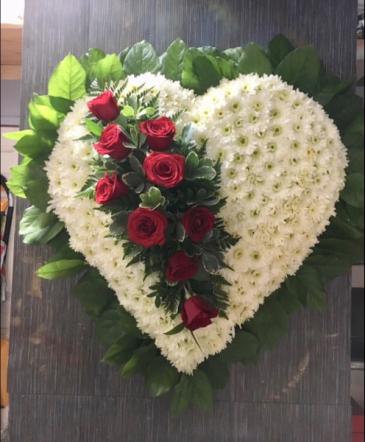 Beloved Heart Funeral Heart