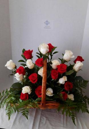 Beloved Memories Funeral Basket