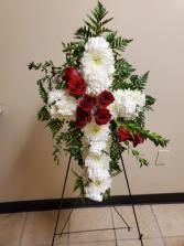Beloved Memories Rose Cross