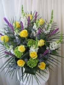 Beloved Memories Sympathy Arrangement