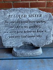 Beloved Sister..