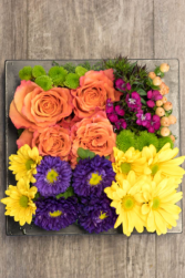 Bento Box of Flowers