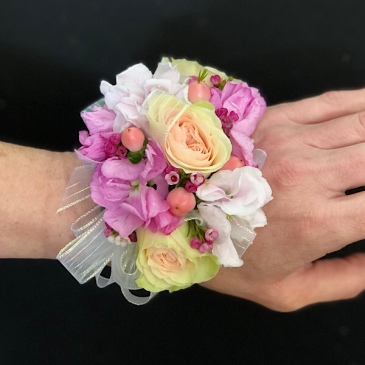 Berries and Cream Corsage