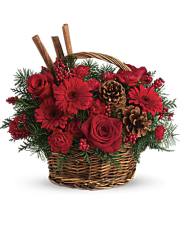 Berries And Spice Bouquet Holiday
