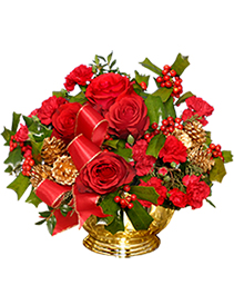 BERRY BEDAZZLING Bouquet of Flowers