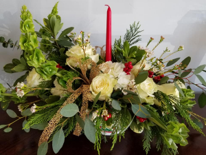 Berry Blessed  Centerpiece in Valparaiso, FL | FLOWERS FROM THE HEART LLC.
