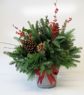 Berry Christmas to All Christmas Arrangement