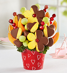 Berry Cute Fruit Bouquet Valentine Fruit Bouquet