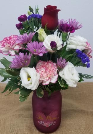 Berry Much Love Vase